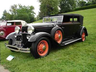 1931 Lincoln Model k,Dietrich Leather 1931 Lincoln, K Model,Dietrich Bodied, Convertible Sedan