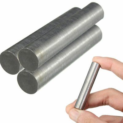 2inch Long 99.95% Pure Tungsten Element Rod Electrodes Metal Cylinder 10mm*50mm