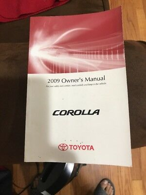 09 2009 toyota corolla owners manual 13 45 picclick rh picclick com 2009 toyota corolla owners manual free 2008 toyota corolla owners manual