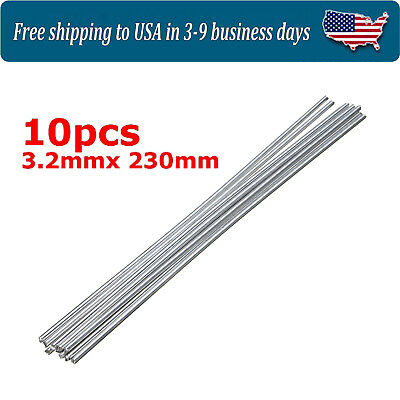 10Pcs Low Temperature Alumaloy Aluminum Repair Rods 3.2mmx230mm New