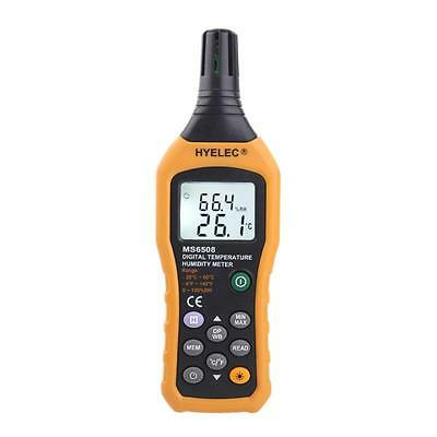 HYELEC MS6508 Wireless Digital Temperature Humidity Meter Hygrometer Thermometer