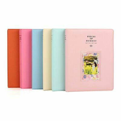 128 Pockets Candy Color Photo Album For FujiFilm Polaroid Instax Mini Camera EU