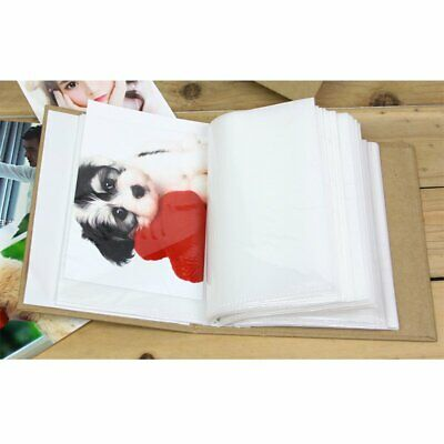 100 Pockets 6 Inch Slip In Photo Album Scrapbook Storage Organizer Holder  EU