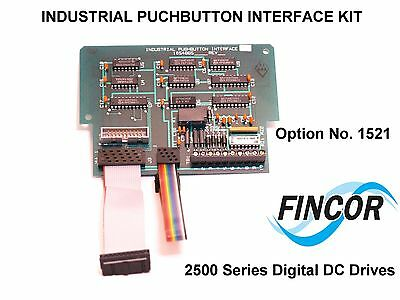 FINCOR Pushbutton INTERFACE for the  2500 Series Digital DC Drive Option 1521