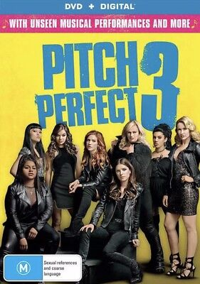 Pitch Perfect 3 Dvd New & Sealed- Free Postage! Region 4