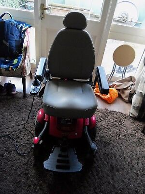 Jazzy Select 6 Electric Wheelchair (RED) - Pre-owned