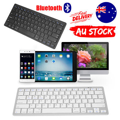 Ultra Slim Bluetooth Wireless Keyboard For Tablet/iPad/IOS/Android Cellphone/Mac