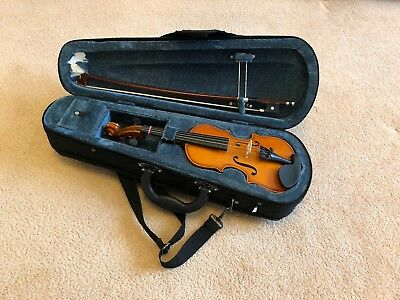 VALENCIA VIOLIN PACK  1/16 SIZE With Case Bow Rosin