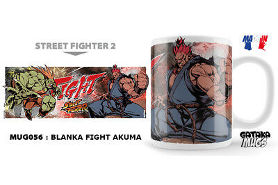 Street Fighter Blanka Fight Akuma Ceramic Mug Tasse NEKOWEAR