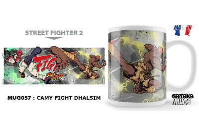 Street Fighter Camy Fight Dhalsim Ceramic Mug Tasse NEKOWEAR
