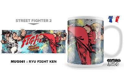 Street Fighter Ryu Fight Ken Ceramic Mug Tasse NEKOWEAR