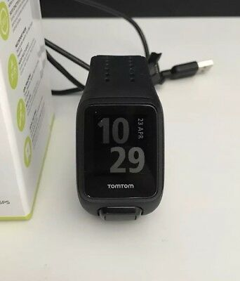 TomTom Spark Cardio GPS Fitness Watch (Black) Large