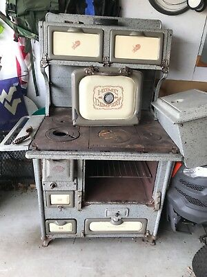 antique wood burning cook stove Home Comfort