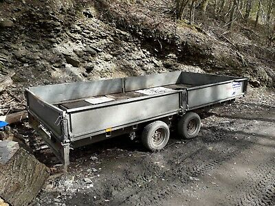 """14ft ifor williams trailer 14x6.6"""""""
