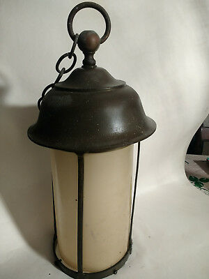 Arts and Crafts light fitting William Morris Lovely brass Porch lantern