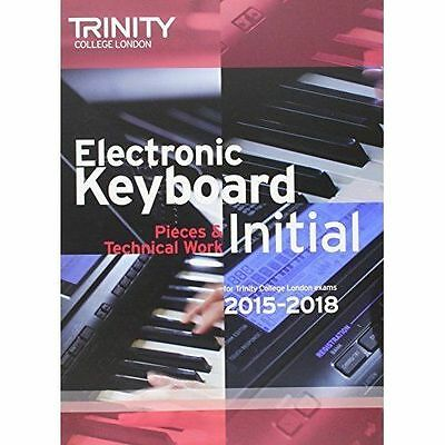 Electronic Keyboard Initial from 2015 by Trinity College London (Paperback,...