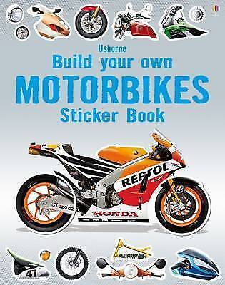 Build Your Own Motorbikes Sticker Book by Simon Tudhope (Paperback, 2015)