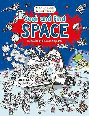 Seek and Find Space by Bloomsbury Publishing PLC (Paperback, 2016)