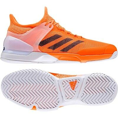 premium selection 233cf 517e7 Adidas adiZero Ubersonic 2.0 Tennis Schuhe Herren Shoes (Sand clay) neon  orange