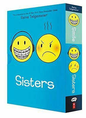 Smile and Sisters: The Box Set by Raina Telgemeier New Paperback Book