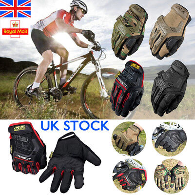 UK Mechanix Tactical Work Gloves Full Finger Military Army Combat Airsoft Gloves