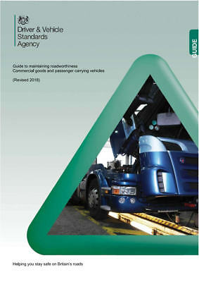 DVSA (VOSA) Guide to Maintaining Roadworthiness - Coach and Truck (2018)