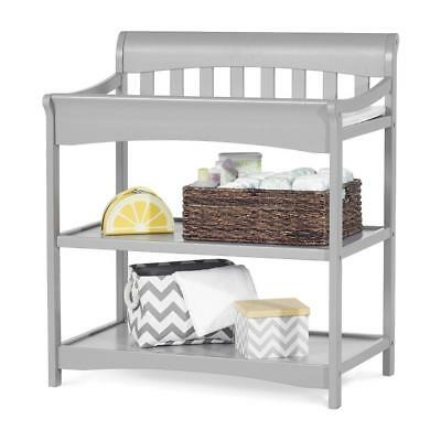 Child Craft Coventry Infant Changing Table With Pad Slate