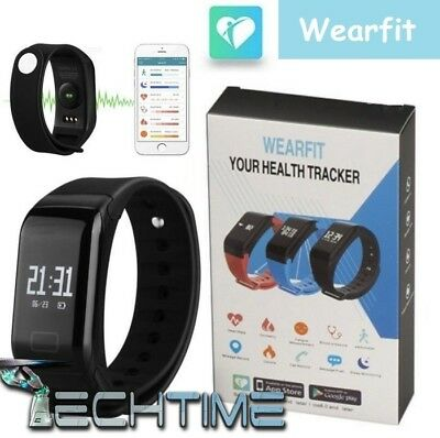 Smartwatch Smart Bracelet Wearfit Android Ios Bluetooth Segnapassi Ip67