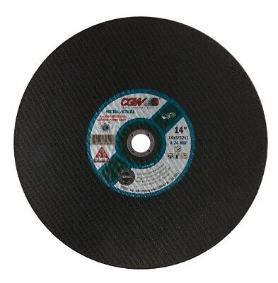 "350mm 14"" Metal Cutting Disc - 20mm Bore"
