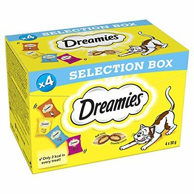 Dreamies Cat Treats Selection Box, 4 x 30 g - Pack of 6