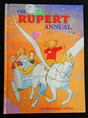 SUPERB 1995 ORIGINAL RUPERT BEAR ANNUAL, UNSCRIBED and PRICE UNCLIPPED
