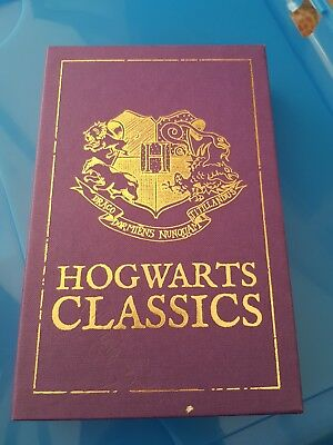 JK Rowling Harry Potter Hogwarts classics hardback boxed book set