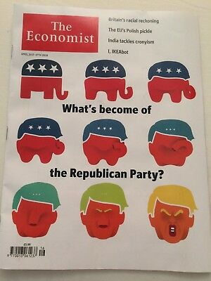 The Economist magazine April 21st-27th 2018 (What's become of Republican Party)