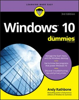 Windows 10  for Dummies, 2018 3rd Edition  Read on PC/Phone/Tablet