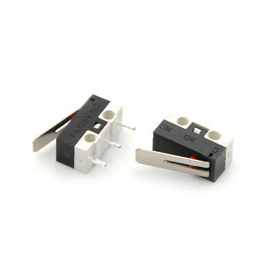 10X 2A 125V Micro Limit Switch Lever Roller Arm Actuator Snap Action Switches Gx