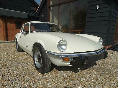 1971 TRIUMPH SPITFIRE with hard top