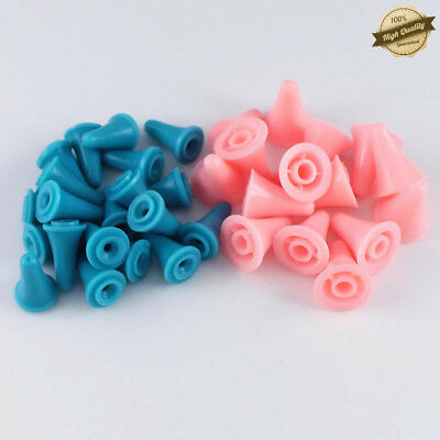 40 Pcs 2 Size Large/Small ABS Plastic Needle Point Protectors For Knitting Craft