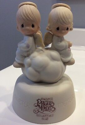 """Precious Moments Collector's Club Angel Figure """"But Love Goes On Forever"""""""