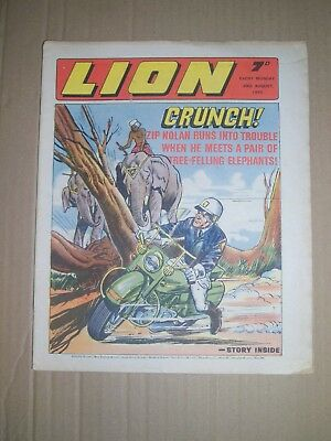 Lion issue dated August 29 1970