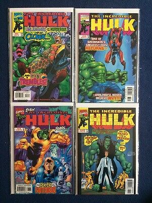 The Incredible Hulk # 471, 472, 473 & 474 Marvel Comics 1998 - 1999 VF/NM