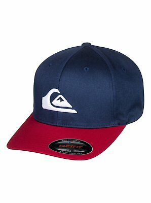 lowest price bf182 452ed Quiksilver Mountain And Wave Flexfit Hat - Men s - S M, Navy Blazer (