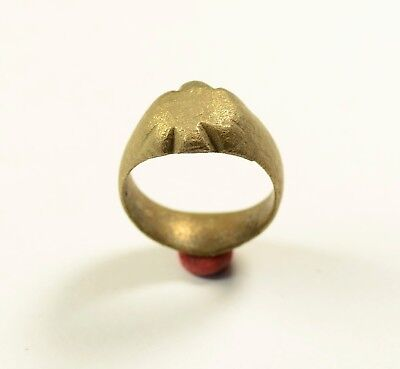 Medieval Bronze Ring - Found With Metal Detector - Wearable Artifact / Cleaned