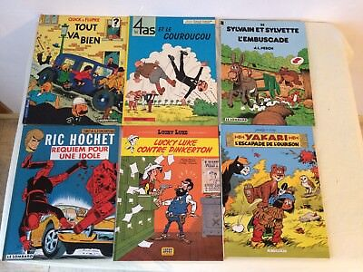 ★★★ lot 12 bandes dessinées divers Michel Vaillant, Ric Hochet etc ..; ★★★