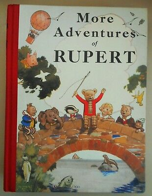 RUPERT ANNUAL 1937 (FACSIMILE) - MORE ADVENTURES OF RUPERT - Alfred Bestall