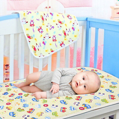 Baby Infant Diaper Nappy Urine Mat Waterproof Nursery Blanket Bedding Cover Pad