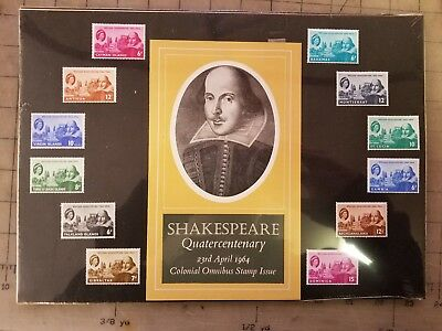 1964 Shakespeare Complete Crown Agents Omnibus Set