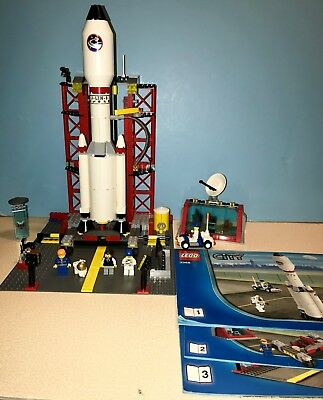 LEGO CITY SPACE Center 3368 Rocket Ship Launch Pad Astronauts - $46.00 | PicClick