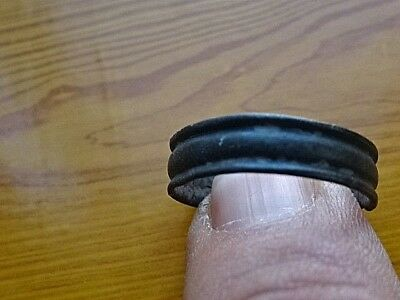 Authentic Celtic Bronze Wedding Ring Circa 100 BC - 200 AD Very Rare