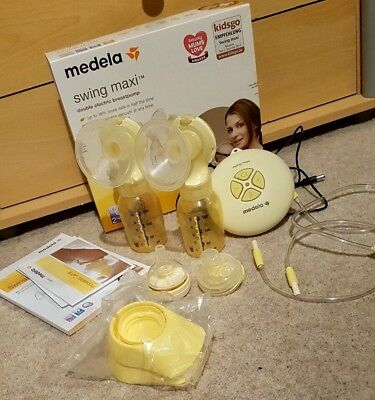 Medela swing maxi double electric breast pump - immaculate condition