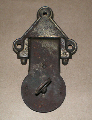 Vintage Steamer Trunk Box Latch With Working Key Rusty Steampunk Hardware Parts